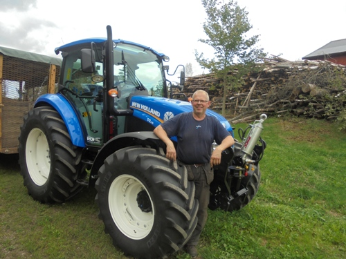 New Holland T4.115 leverans