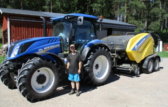 New Holland T6.155 RC-Maskiner